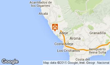 Mapa Adeje Apartamentos 98782