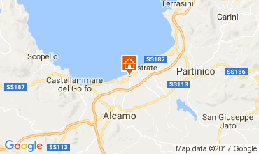 Mapa Balestrate Apartamentos 79646