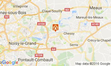 Mapa Marne la Vallée Apartamentos 106894