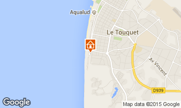 Mapa Le Touquet Apartamentos 96150