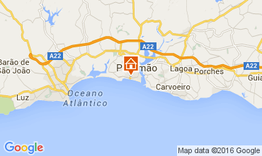 Mapa Praia da Rocha Apartamentos 101282