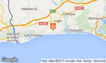 Mapa Islantilla Vivenda 63497