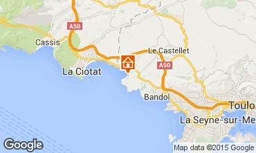 Mapa Saint Cyr sur Mer Estúdio 98998