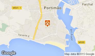 Mapa Praia da Rocha Apartamentos 75306