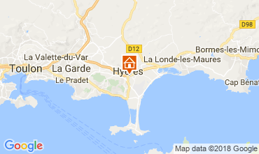 Mapa Hyères Estúdio 109105