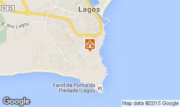 Mapa Lagos Apartamentos 21335