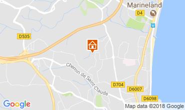 Mapa Antibes Apartamentos 113971