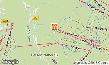 Mapa Peisey-Vallandry Chal� 50280