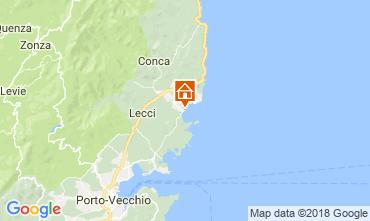 Mapa Ste Lucie de Porto Vecchio Casa 114349
