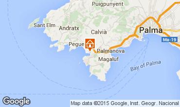Mapa Santa Ponsa Apartamentos 83594