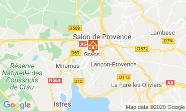 Mapa Salon de Provence Casa de turismo rural/Casa de campo 12967