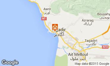 Mapa Agadir Apartamentos 54064