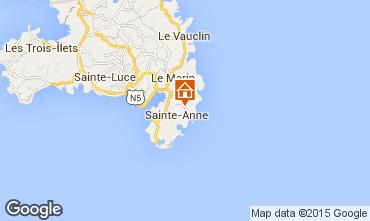 Mapa Sainte Anne (Martinique) Casa 62844