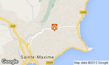 Mapa Sainte Maxime Vivenda 5713