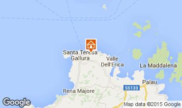 Mapa Santa Teresa di Gallura Apartamentos 94107