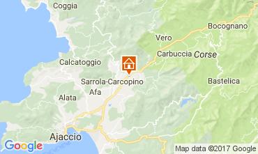 Mapa Ajaccio Apartamentos 110632