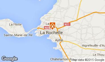 Mapa La Rochelle Apartamentos 93344