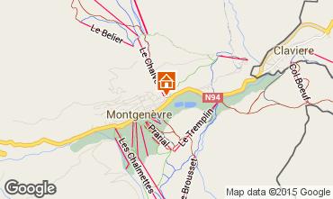 Mapa Montgenevre Apartamentos 73627