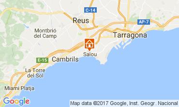 Mapa Salou Apartamentos 75522