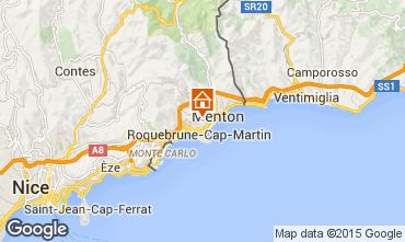 Mapa Roquebrune Cap Martin Apartamentos 95019