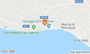 Mapa Pescoluse Apartamentos 101781
