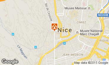 Mapa Nice Apartamentos 93560