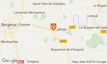 Mapa Couze et Saint Front Vivenda 113497