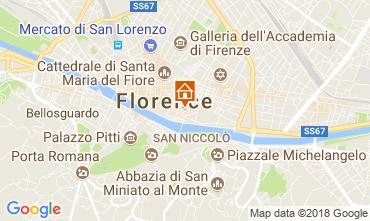 Mapa Florença Apartamentos 115059