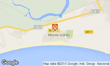 Mapa Monte Gordo Apartamentos 83166