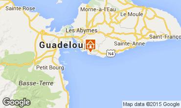Mapa Gosier (Guadeloupe) Apartamentos 101968