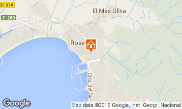Mapa Rosas Apartamentos 102467
