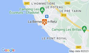 Mapa La Bernerie en Retz Casa 114527