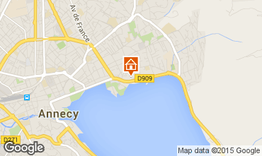 Mapa Annecy Est�dio 70082