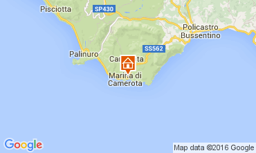 Mapa Marina di Camerota Apartamentos 77794