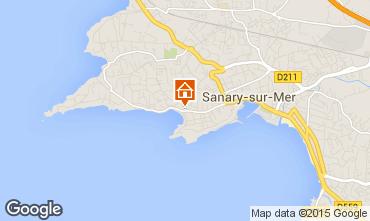 Mapa Sanary Apartamentos 63327