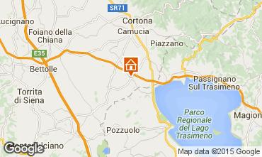 Mapa Cortona Casa 79432
