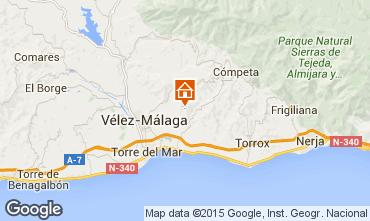 Mapa Arenas Chalé 93745