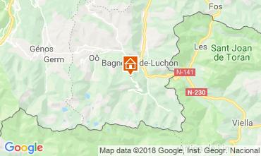 Mapa Luchon Superbagneres Est�dio 4251
