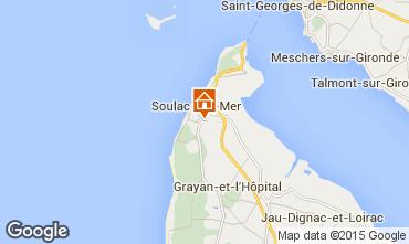 Mapa Soulac Apartamentos 6725