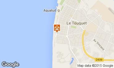 Mapa Le Touquet Apartamentos 84476