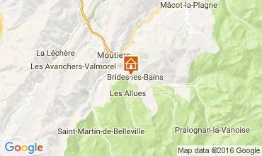 Mapa Brides Les Bains Estúdio 106467