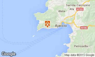 Mapa Ajaccio Apartamentos 54163