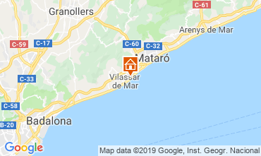 Mapa Barcelona Apartamentos 75200