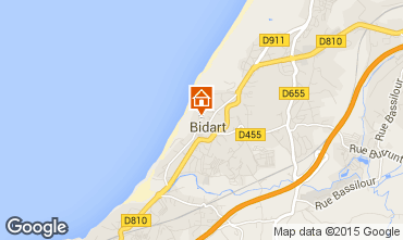 Mapa Biarritz Casa 71902