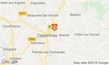 Mapa Carpentras Casa 117417