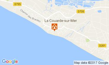 Mapa La Couarde-sur-Mer Apartamentos 81402