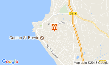 Mapa Saint Brevin les Pins Casa 115809
