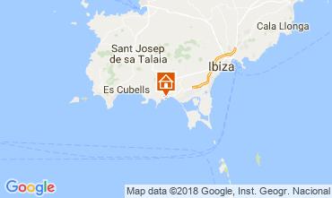Mapa Ibiza Quarto de hóspedes 113290