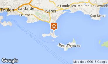 Mapa Hyères Apartamentos 5840