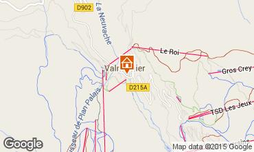 Mapa Valmeinier Apartamentos 3436